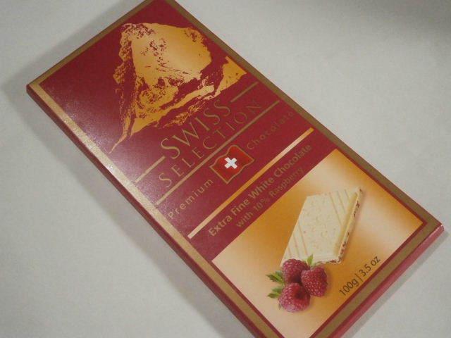 スイスセレクション エクストラファインホワイトチョコレート10%ラズベリー01.JPG